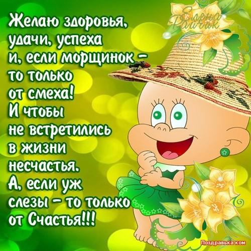 Поздравления с днем рождения и пожеланиями